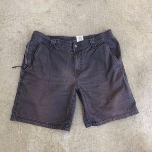 Columbia Men's Gray Omni-Shield Flat Front Shorts